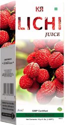 KR Enterprises Bottle Lichi Juice, Packaging Type: Box, Packaging Size: 500 ml, 1000 ml