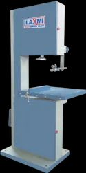 2 Hp Mild Steel Semi Automatic Vertical Band Saw Machine, For Industrial, Size/Dimension: 18 * 18 Inch