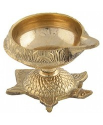 Brass Tortoisekuber Lamp