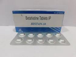 Betahistine Tablets IP - Histan-16