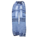 Men Blue S Jogger, Waist Size: 32 And 36