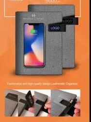 Wireless Power Bank USB Diary