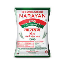 Narayana Bhog Chakki Fresh Atta Packing Bag