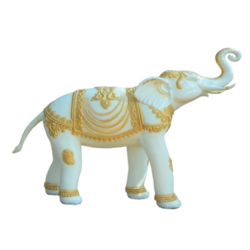 Marble Look FRP Elephant