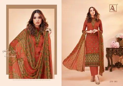 cbdb44a977 Cotton Bridal Wear Alok Suits Presents Salwar Kameez, Rs 439 /piece ...