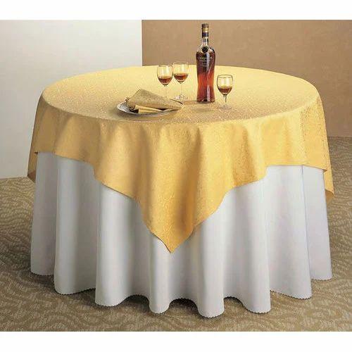 Zuukra Event Round Cotton Table Linen