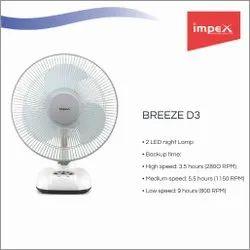 Rechargeable Fan (Breeze D3)