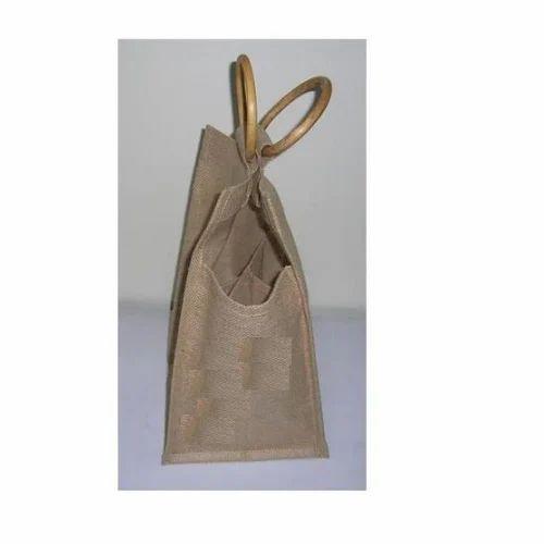 b680d4cde992 Brown Oasis Fancy Jute Bag, Oasis Agencies Private Limited | ID ...