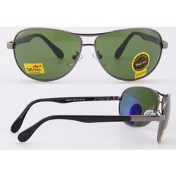 Aviator Black, Brown Tag Hills Green Persol Men Sunglasses