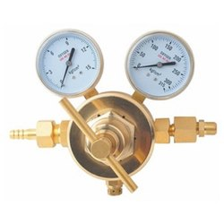 Regulator Double Meter (Brass) Heavy