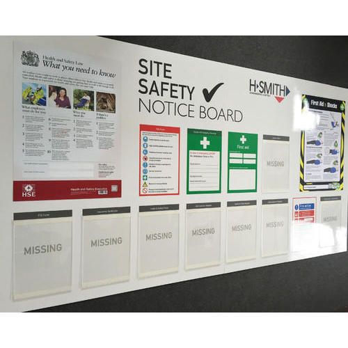 Construction Site Boards: Safety Posters, Safety Poster