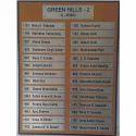 Informative Steel Signage Board