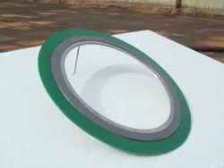 Ptfe Green Spiral Wound Gaskets, For Industrial,Commercial, Ring Gasket