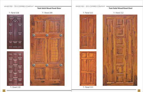 Solid Oak Doors With Gl Panels on