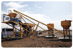 Economical Custom Design Self Loading Concrete Batching Plant