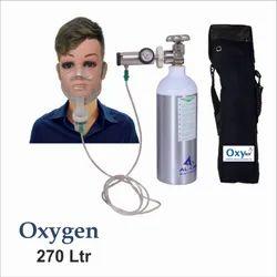 Oxy Kit, Portable Oxygen Gas Aluminum Cylinder