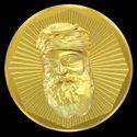 A - Gurunanak Panchdhatu Coin
