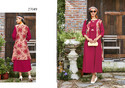 Stupendous Rayon Printed Party Wear Kurti
