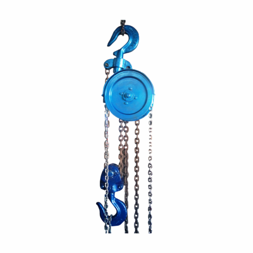Motorized Hand Chain Chain Pulley Block, Capacity: 1 ton