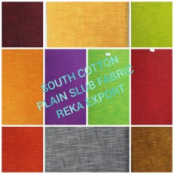 South Cotton Slub Fabric
