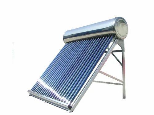 Termotanque solar de acero inoxidable 150L
