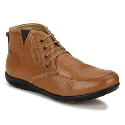 Tan Mid Ankle Casual Shoes, Size: 6 And 8