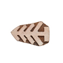 Tree Pattern Wooden Henna Printing Blocks