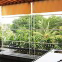 Clear Pvc Monsoon Blinds