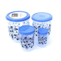 Transparent Plastic Kitchen Storage Containers, For Packaging, Capacity: 2-6 Ltr