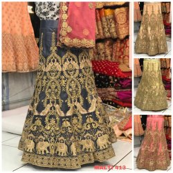 Net Party Wear Lehenga Choli