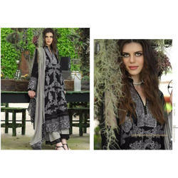 Cotton Embroidered Semi-Stitched Pakistani Lawn Suit