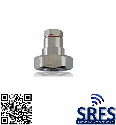 DIN Male Connector for 3 By 8 Feeder Cable - Signity RF