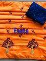 Designer Sana Silk Embroidery Saree