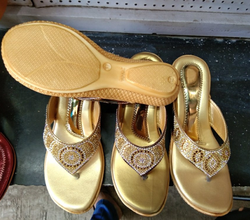 Ladies Diamond Sandal