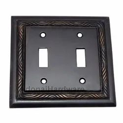 2 Toggle Rope Switch Plate