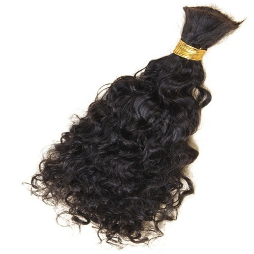 Black Short Curly Hair Extension For Parlour And Personal Rs 1500 Bundle Id 19704782162