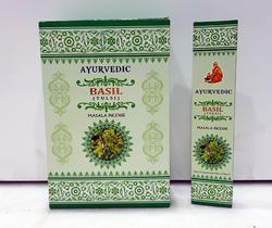 Ayurvedic Basil Masala Incense Sticks