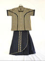 Shyamjee Girls Shirt And Divided Skirt School Uniform