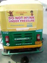 Auto Advertising Sticker