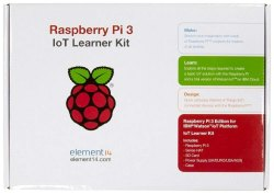 Rasberry PI 3 B IOT Complete Learner Kit-PI 3 B Premium IOT Kit