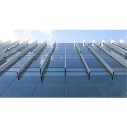 Industrial Glass Glazing Work, Glass Thickness: 5 To 7 Mm, for Exterior
