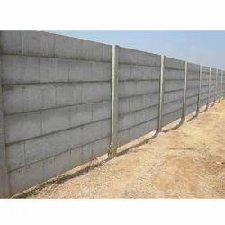 Grey RCC Readymade Compound Wall