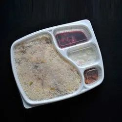 4  Compartment Biryani Tray with lid