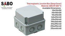 Thermoplastic Junction Box (Deep Cover)
