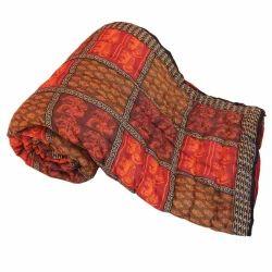 Ethnic Jaipuri Print Double Bed Razai Quilt 308