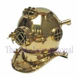 Nautical Brass Diving Helmet