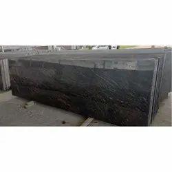 Polished Bash Paradiso Granite Slab, for Flooring, Thickness: 15-20 Mm