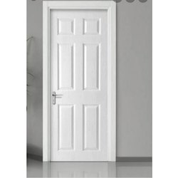 Coated White PVC Hinged Door Service, Interior