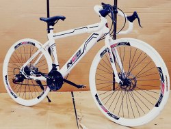 White Neo Gear Bicycle