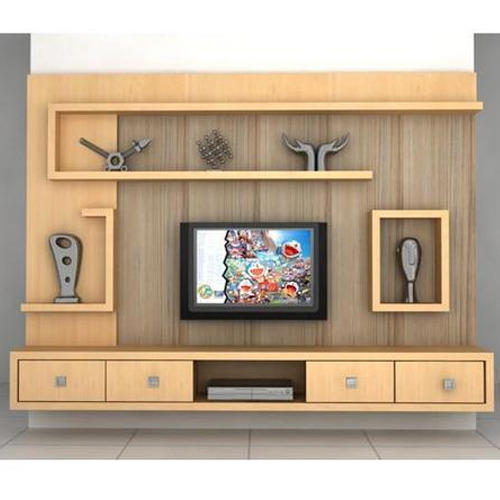 Brown Wood Wooden Tv Cabinet Rs 15000
